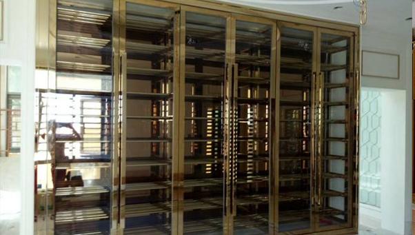 不锈钢恒温酒柜,一生的珍藏