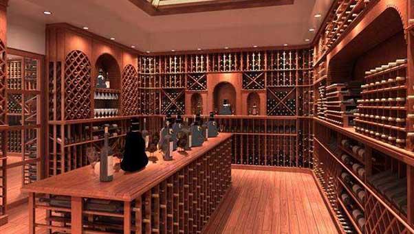 如何设计定制会所酒窖?