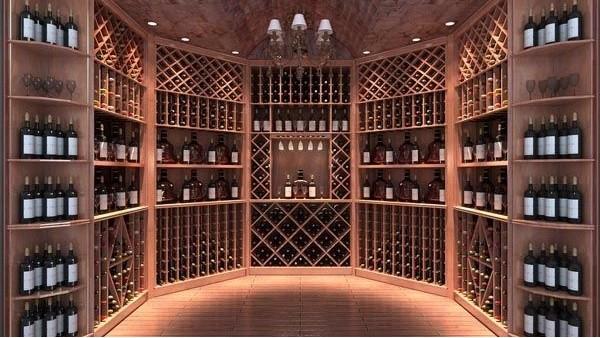 根据不同的要求选择不同的酒架