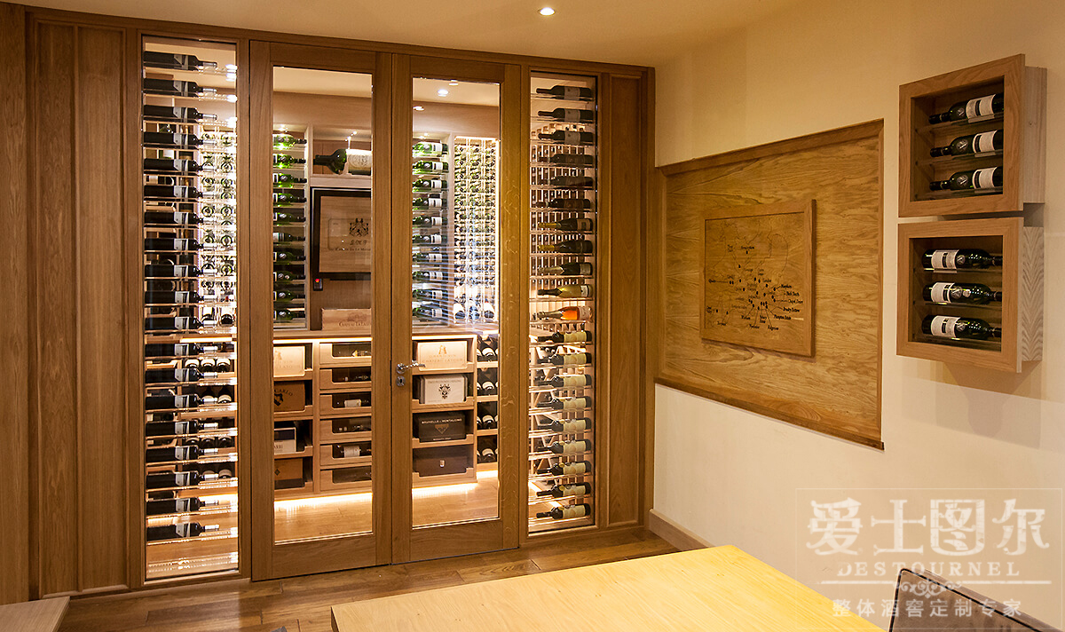 Custom Wine Room – Sorrells Custom Wine Cellars